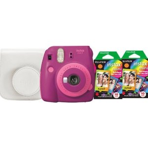 Fujifilm instax mini 9 Instant Film Camera Bundle