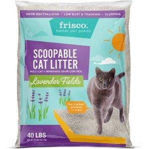 FRISCO薰衣草味道多猫家庭猫砂 40lb
