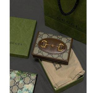 Gucci可加链条改造成斜挎小包1955' 马鞍钱包