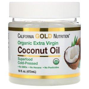 养生养颜California 初榨椰子油 (473 ml)