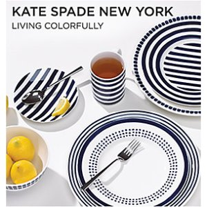 Extra 30% offKate Spade New York Tableware & Home Decor on Sale @ Lenox