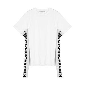 Stella McCartneyWhite logo cotton T-shirt