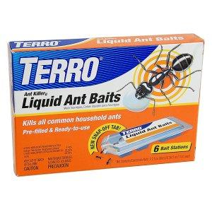 TERRO T300 液体蚂蚁药 6剂装, 蚂蚁克星