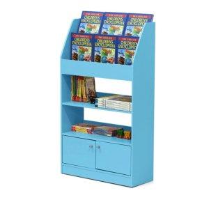 低至$36(原价$109.99)Furinno 儿童书架,带收纳柜