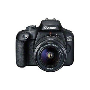 CanonEOS 4000D DSLR 相机+EF-S 18-55 mm f/3.5-5.6 III 镜头