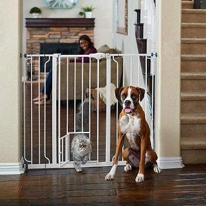 You & MeExtra-Tall Walk-Thru Pet Gate | Petco