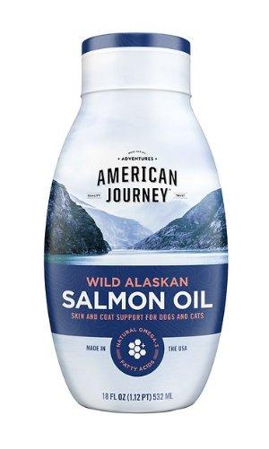 American Journey Wild Alaskan Salmon Oil Liquid Dog & Cat Supplement, 18-oz bottle
