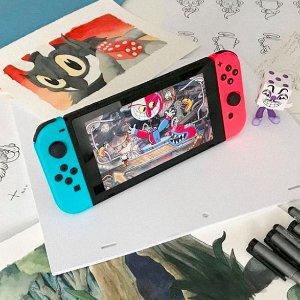 8.5折 $409收经典红蓝补货:Nintendo Switch 人气游戏机热卖