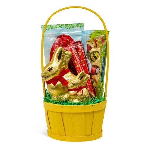 复活节金兔子巧克力礼桶