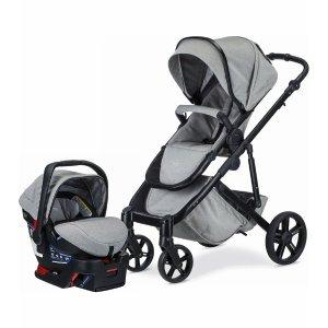 BritaxB-Ready & B-Safe Ultra 童车+婴儿安全座椅  特殊布料版