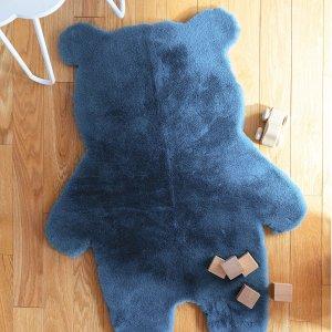 低至5.1折+满减Simons 室内地毯热卖  精致家里的每一个角落 $20收小熊地毯