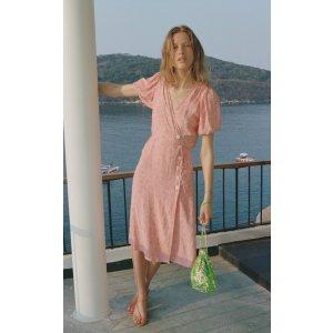 Faithfull The BrandFran Floral-Print Crepe Midi Dress