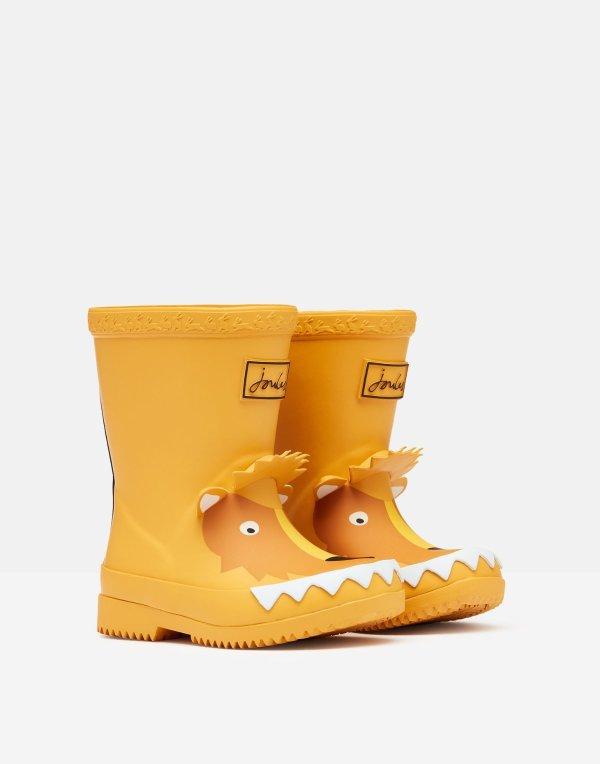 幼童怪兽高筒雨靴