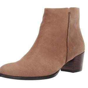 $72.41起(原价$270)ECCO 爱步 经典款女士及踝皮靴 US4-4.5码 皮质舒适柔软