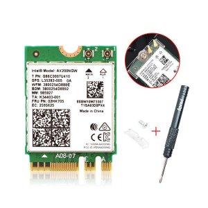 $18.99 2400MbpsFenvi Intel AX200NGW 802.11ax M.2 无线网卡