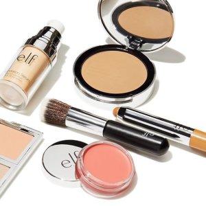 $0.4起+送好礼白菜价:e.l.f. 美妆产品 春季特卖  收唇膏、化妆刷