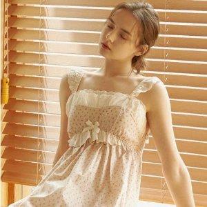 5折起+额外9折 €56收封面同款W Concept 仙女睡衣家居服专场 韩风森系睡衣参与