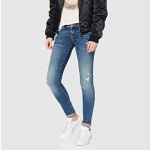 ONLY 女士修身牛仔裤 特价 25W/32L码 低至2.4折 码数全