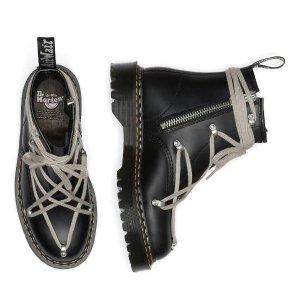 1460经典马丁靴全新演绎预告:Dr Martens X Rick Owens 潮鞋地表最强联名 即将上市