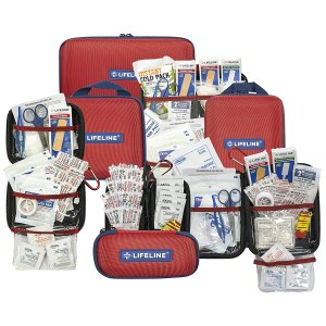 $18.35(原价$19.49)LifeLine 大号便携式医用急救包 85件套 出门急救万能包