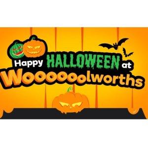 低至$1.7  毛骨悚然的时刻来临Woolworths 现有万圣节食物、装扮等热卖