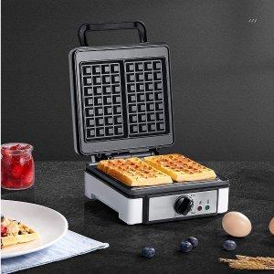 $29.99(原价$39.99)A/C 华夫饼机 7档温度调控 快手早餐、下午茶原来这么简单
