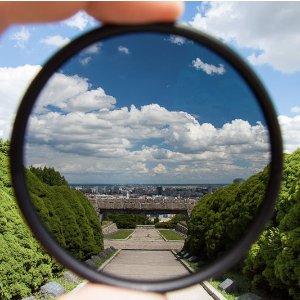 $12MeFOTO 67mm Filter kit UV+Lens Protector, Circular Polarizer Filters - Green