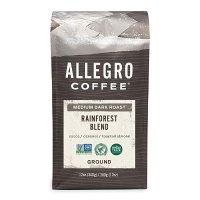 Allegro咖啡雨林混合咖啡粉,12盎司