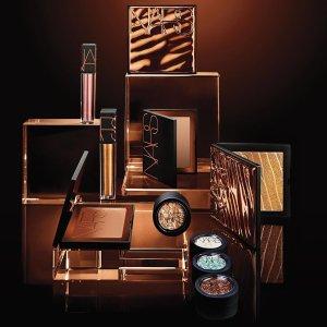 Laguna专属系列+独特外壳包装上新:Nars 沙漠古铜金系列彩妆热卖 收大号修容盘、唇膏