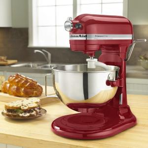 网络周一开抢:KitchenAid 500系列 5夸脱专业升降搅拌机 3色