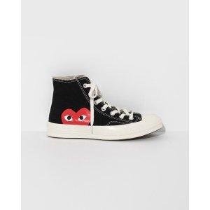 Black Play Converse 高帮鞋