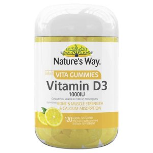 Nature's Way维生素D3 成人软糖