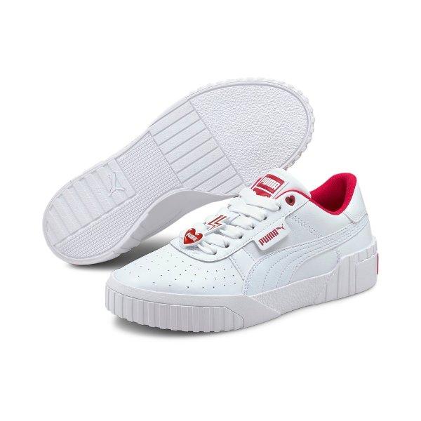 Cali Galentine's 限量爱心装饰板鞋