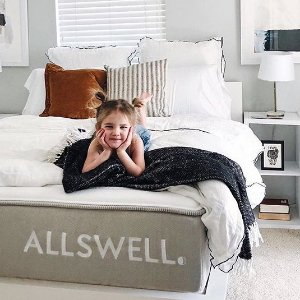 单人床垫$125.38Allswell Twin Luxe 单人奢华经典床垫和设计师床品网络周大促