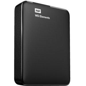 $99西部数据WD 2TB Elements 便携硬盘