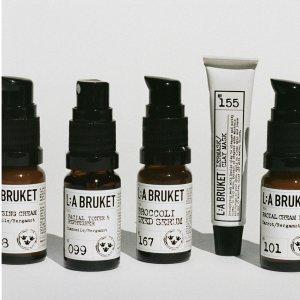 全线73折 £6.8入润唇膏L:A BRUKET 瑞典有机小众护肤品牌热卖