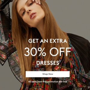 Extra 30% Off Select Dresses @ THE OUTNET