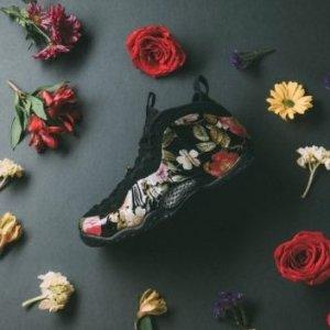 $110起+包邮新品上市:Nike 花卉主题男女球鞋一同发售