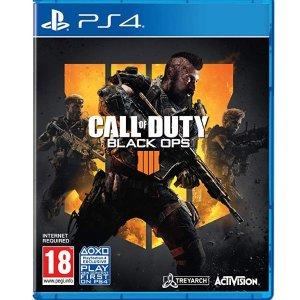 $48(原价$59.99)热门新作《使命召唤 黑色行动4》PS4 实体版
