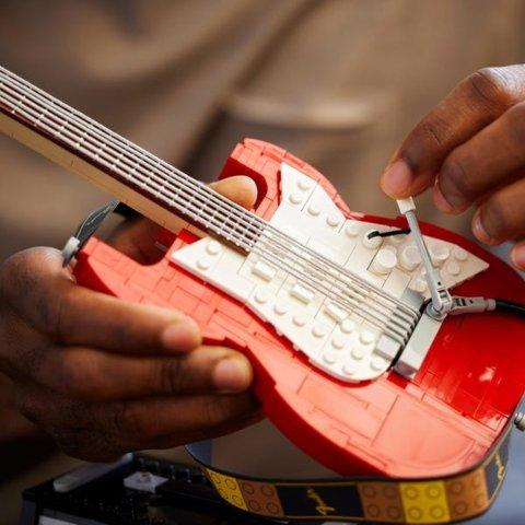 圣诞新品来袭 满额送礼LEGO官网 十月热卖 电吉他 问号块 推土机上市!打字机现货