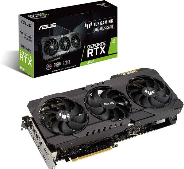 TUF Gaming GeForce RTX 3090 显卡