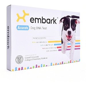 $135(原价$199)闪购:Embark 狗狗DNA检测