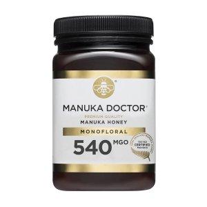 Manuka Doctor540 MGO 500g 蜂蜜