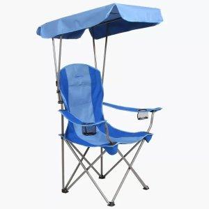 折叠遮阳椅
