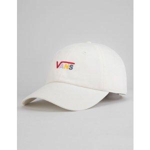 VansVANS Court Side White Rainbow Dad Hat