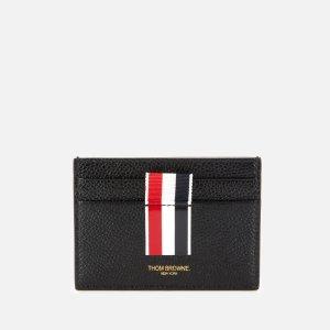 Thom Browne满€234减€58.5黑色logo卡包