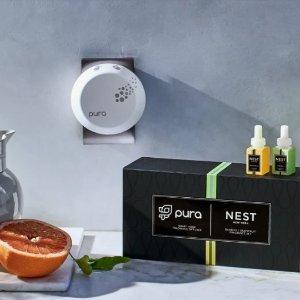 送$16摩洛哥琥珀香薰蜡烛NEST Fragrances 购任一套Pura 智能家居香薰套装