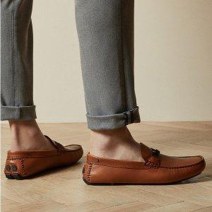 5折起+额外8.5折 $38收平价金鹅The Bay 时尚先生 绅士风、休闲风单鞋 真皮乐福鞋$68