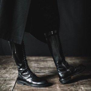 无门槛7.5折 收马靴、骑士靴Ann Demeulemeester 潮酷靴子专场 女明星集体带货