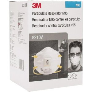 3M- N95, Size Universal, Particulate Respirator - 40765836 - MSC Industrial Supply